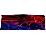 Lights Abstract Curves Long Exposure Body Pillow Case Dakimakura (Two Sides) Back