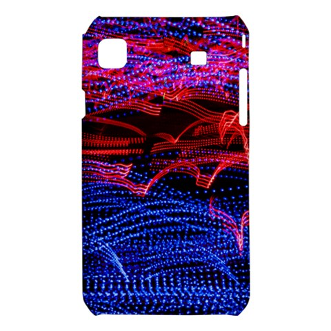 Lights Abstract Curves Long Exposure Samsung Galaxy S i9008 Hardshell Case