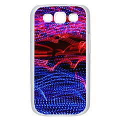 Lights Abstract Curves Long Exposure Samsung Galaxy S III Case (White)
