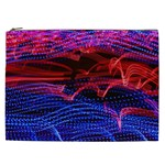 Lights Abstract Curves Long Exposure Cosmetic Bag (XXL)  Front