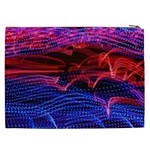 Lights Abstract Curves Long Exposure Cosmetic Bag (XXL)  Back