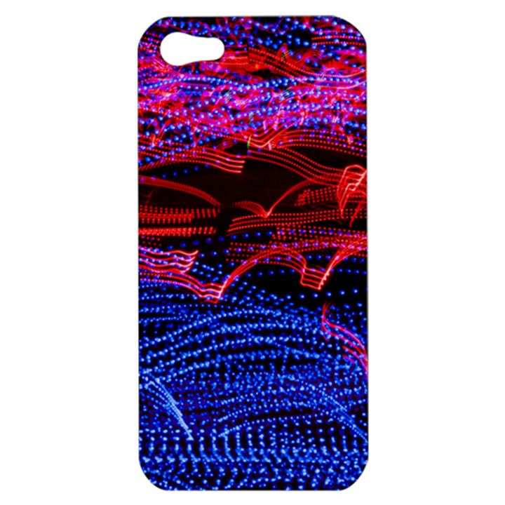 Lights Abstract Curves Long Exposure Apple iPhone 5 Hardshell Case