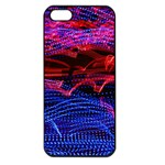 Lights Abstract Curves Long Exposure Apple iPhone 5 Seamless Case (Black) Front