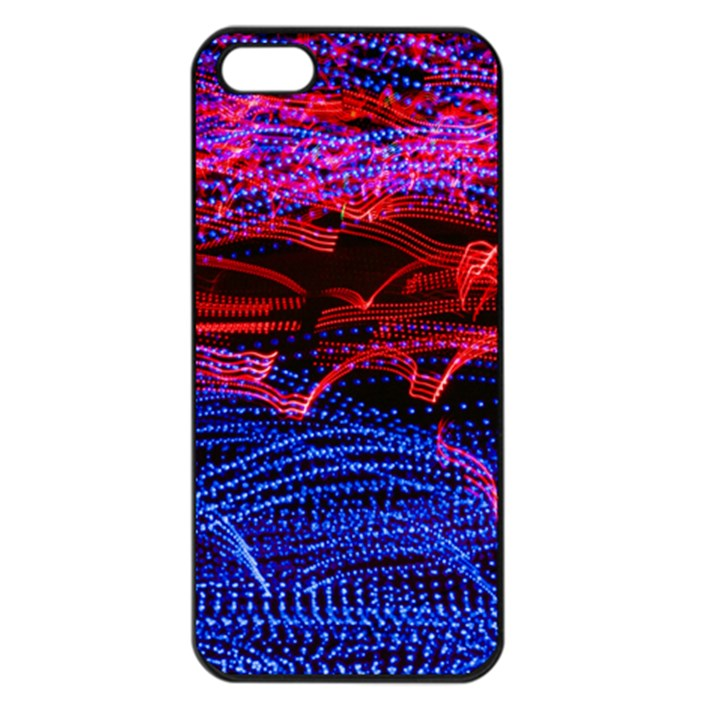 Lights Abstract Curves Long Exposure Apple iPhone 5 Seamless Case (Black)