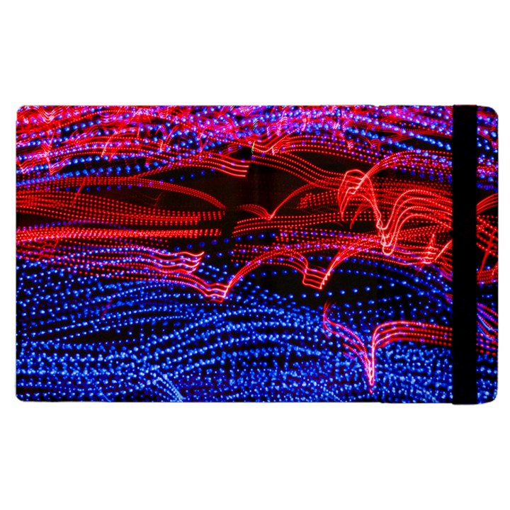 Lights Abstract Curves Long Exposure Apple iPad 3/4 Flip Case