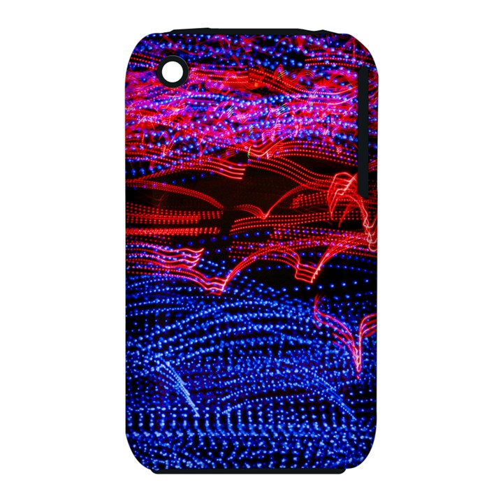 Lights Abstract Curves Long Exposure Apple iPhone 3G/3GS Hardshell Case (PC+Silicone)