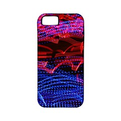 Lights Abstract Curves Long Exposure Apple iPhone 5 Classic Hardshell Case (PC+Silicone)