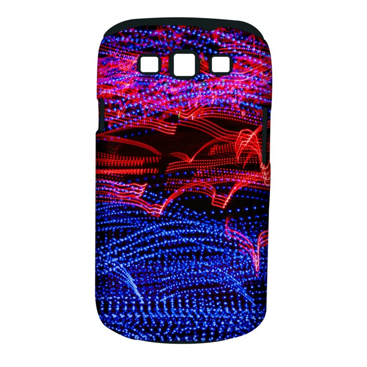 Lights Abstract Curves Long Exposure Samsung Galaxy S III Classic Hardshell Case (PC+Silicone)