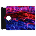 Lights Abstract Curves Long Exposure Kindle Fire HD Flip 360 Case Front