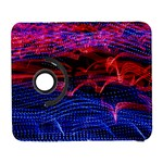 Lights Abstract Curves Long Exposure Samsung Galaxy S  III Flip 360 Case Front