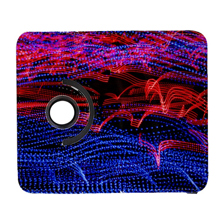 Lights Abstract Curves Long Exposure Samsung Galaxy S  III Flip 360 Case