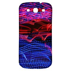 Lights Abstract Curves Long Exposure Samsung Galaxy S3 S III Classic Hardshell Back Case
