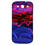 Lights Abstract Curves Long Exposure Samsung Galaxy S3 S III Classic Hardshell Back Case Front