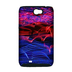 Lights Abstract Curves Long Exposure Samsung Galaxy Note 2 Hardshell Case (PC+Silicone)