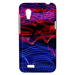 Lights Abstract Curves Long Exposure HTC Desire VT (T328T) Hardshell Case
