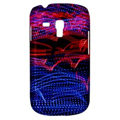 Lights Abstract Curves Long Exposure Samsung Galaxy S3 MINI I8190 Hardshell Case
