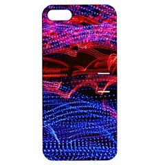 Lights Abstract Curves Long Exposure Apple iPhone 5 Hardshell Case with Stand