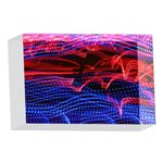 Lights Abstract Curves Long Exposure 4 x 6  Acrylic Photo Blocks Front
