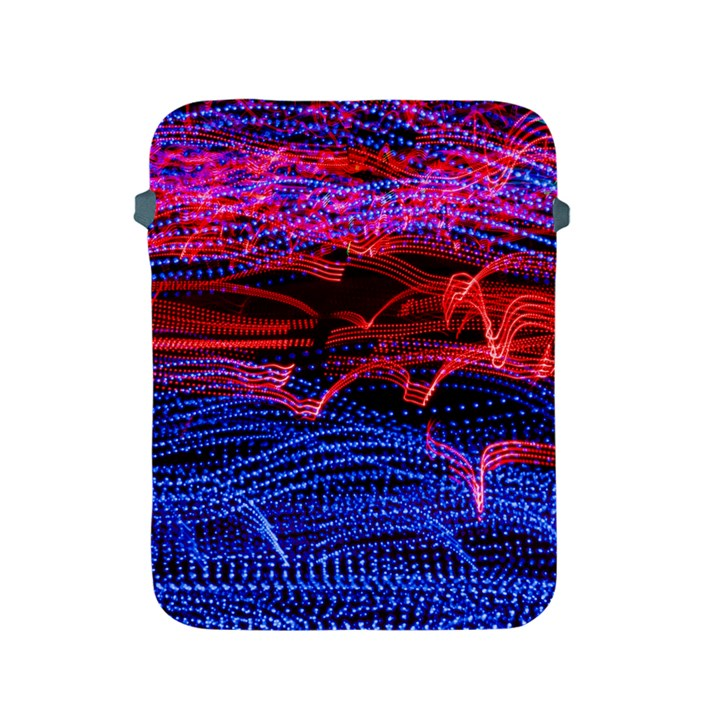 Lights Abstract Curves Long Exposure Apple iPad 2/3/4 Protective Soft Cases