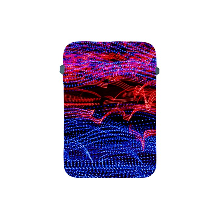 Lights Abstract Curves Long Exposure Apple iPad Mini Protective Soft Cases