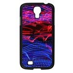 Lights Abstract Curves Long Exposure Samsung Galaxy S4 I9500/ I9505 Case (Black) Front