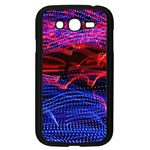 Lights Abstract Curves Long Exposure Samsung Galaxy Grand DUOS I9082 Case (Black) Front