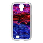 Lights Abstract Curves Long Exposure Samsung GALAXY S4 I9500/ I9505 Case (White) Front