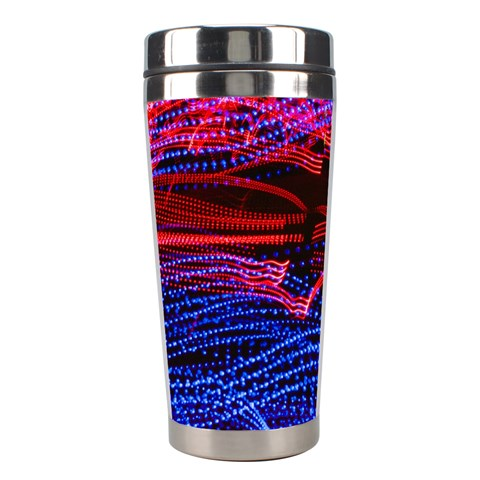 Lights Abstract Curves Long Exposure Stainless Steel Travel Tumblers