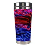 Lights Abstract Curves Long Exposure Stainless Steel Travel Tumblers Left