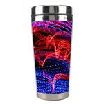 Lights Abstract Curves Long Exposure Stainless Steel Travel Tumblers Right