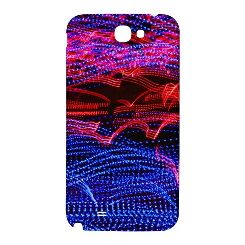 Lights Abstract Curves Long Exposure Samsung Note 2 N7100 Hardshell Back Case