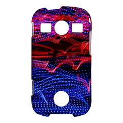 Lights Abstract Curves Long Exposure Samsung Galaxy S7710 Xcover 2 Hardshell Case