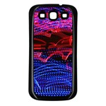 Lights Abstract Curves Long Exposure Samsung Galaxy S3 Back Case (Black) Front