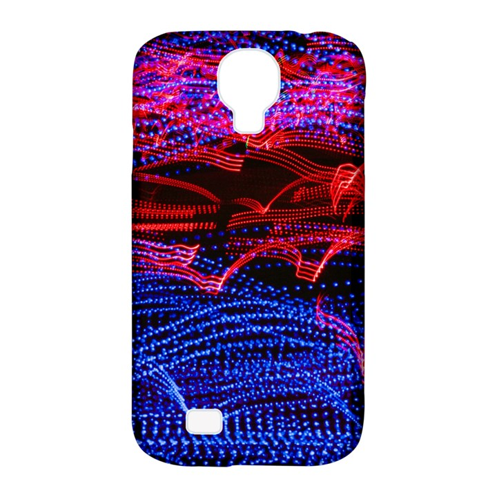 Lights Abstract Curves Long Exposure Samsung Galaxy S4 Classic Hardshell Case (PC+Silicone)
