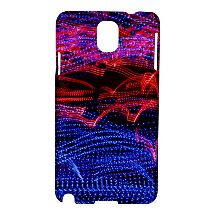 Lights Abstract Curves Long Exposure Samsung Galaxy Note 3 N9005 Hardshell Case