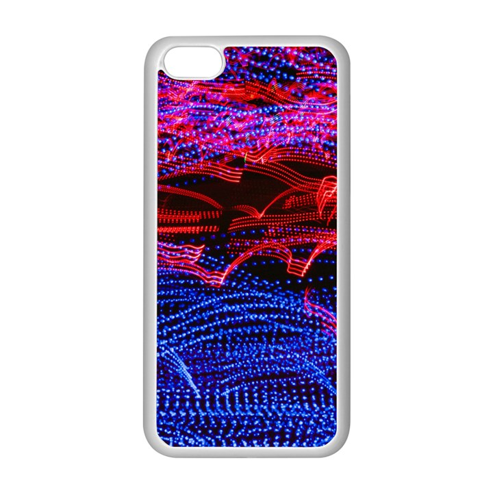 Lights Abstract Curves Long Exposure Apple iPhone 5C Seamless Case (White)