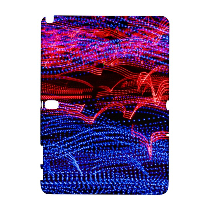 Lights Abstract Curves Long Exposure Samsung Galaxy Note 10.1 (P600) Hardshell Case