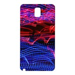 Lights Abstract Curves Long Exposure Samsung Galaxy Note 3 N9005 Hardshell Back Case Front