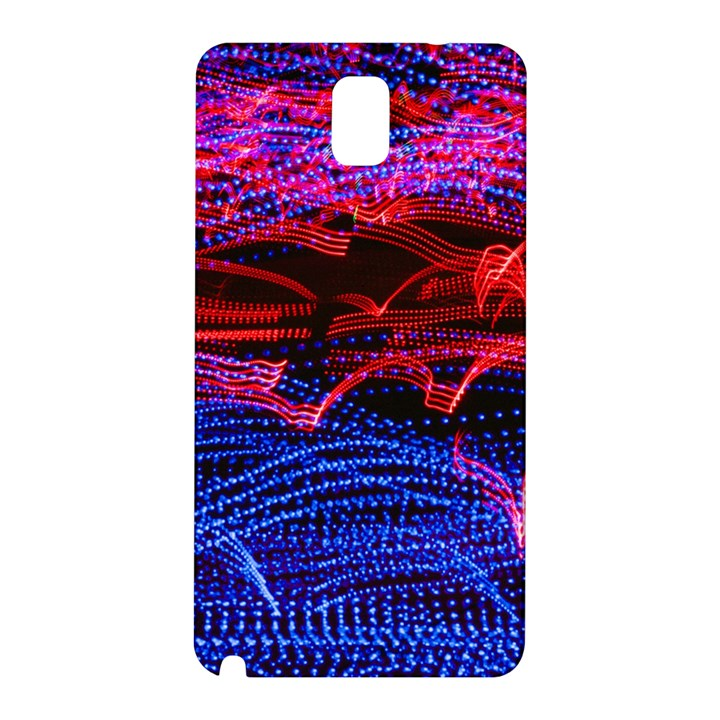 Lights Abstract Curves Long Exposure Samsung Galaxy Note 3 N9005 Hardshell Back Case