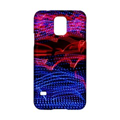 Lights Abstract Curves Long Exposure Samsung Galaxy S5 Hardshell Case
