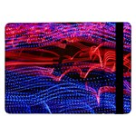 Lights Abstract Curves Long Exposure Samsung Galaxy Tab Pro 12.2  Flip Case Front