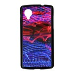 Lights Abstract Curves Long Exposure Nexus 5 Case (Black) Front