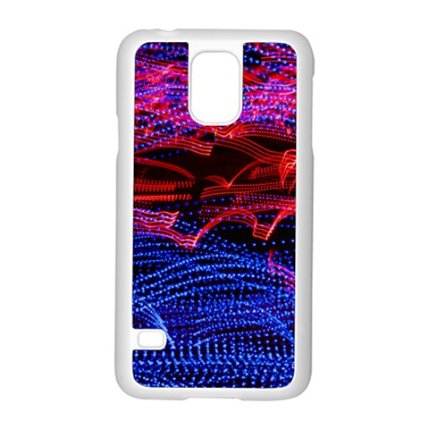 Lights Abstract Curves Long Exposure Samsung Galaxy S5 Case (White)