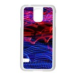 Lights Abstract Curves Long Exposure Samsung Galaxy S5 Case (White) Front