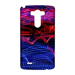 Lights Abstract Curves Long Exposure LG G3 Hardshell Case