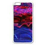 Lights Abstract Curves Long Exposure Apple iPhone 6 Plus/6S Plus Enamel White Case Front