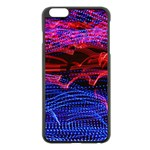 Lights Abstract Curves Long Exposure Apple iPhone 6 Plus/6S Plus Black Enamel Case Front