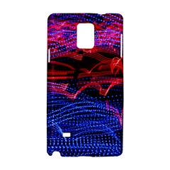 Lights Abstract Curves Long Exposure Samsung Galaxy Note 4 Hardshell Case