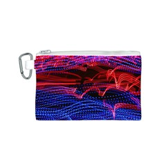 Lights Abstract Curves Long Exposure Canvas Cosmetic Bag (S)