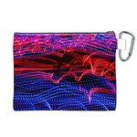 Lights Abstract Curves Long Exposure Canvas Cosmetic Bag (XL) Back